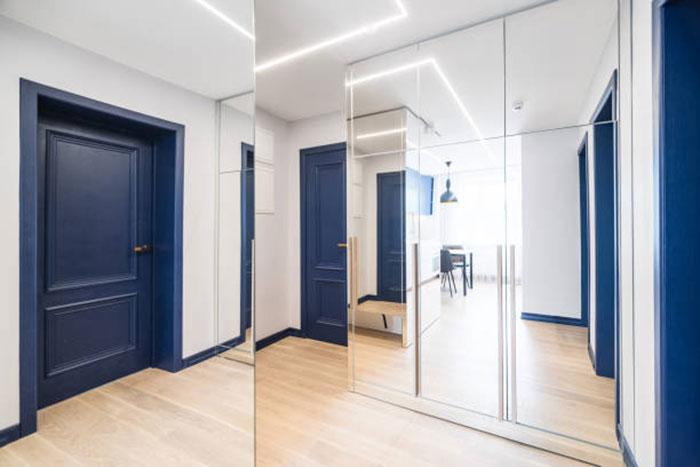 эксклюзивные синии двери