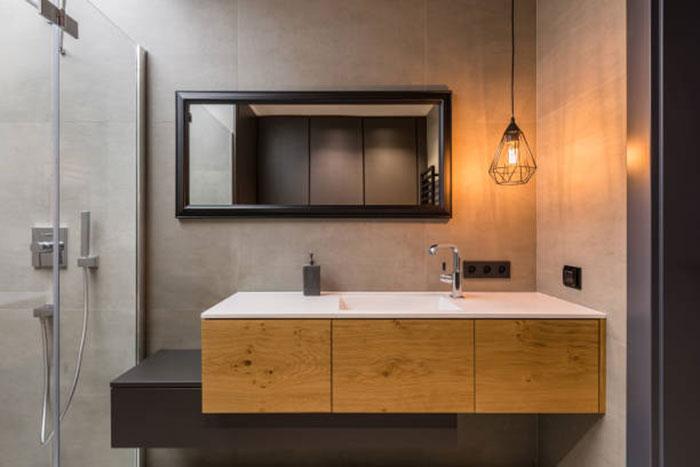 специальная мебель для ванной комнаты фото