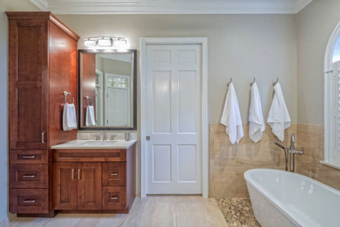 шкаф для ванной из МДФ